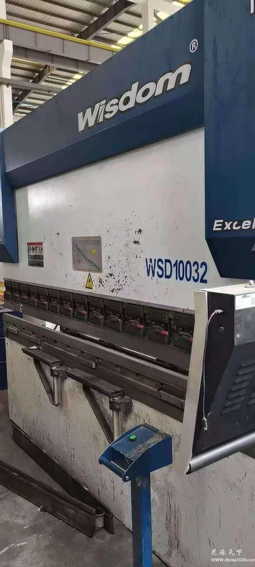 二手汉智WSD-10032数控折弯机(100吨3.2米)