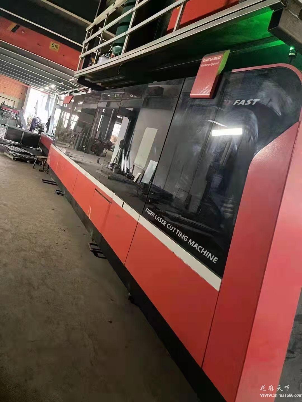 二手迪能D-FAST2060FCCBD6000W光纤激光切割机(6000瓦)