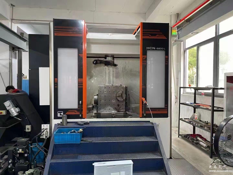 二手马扎克HCN-6800L卧式加工中心