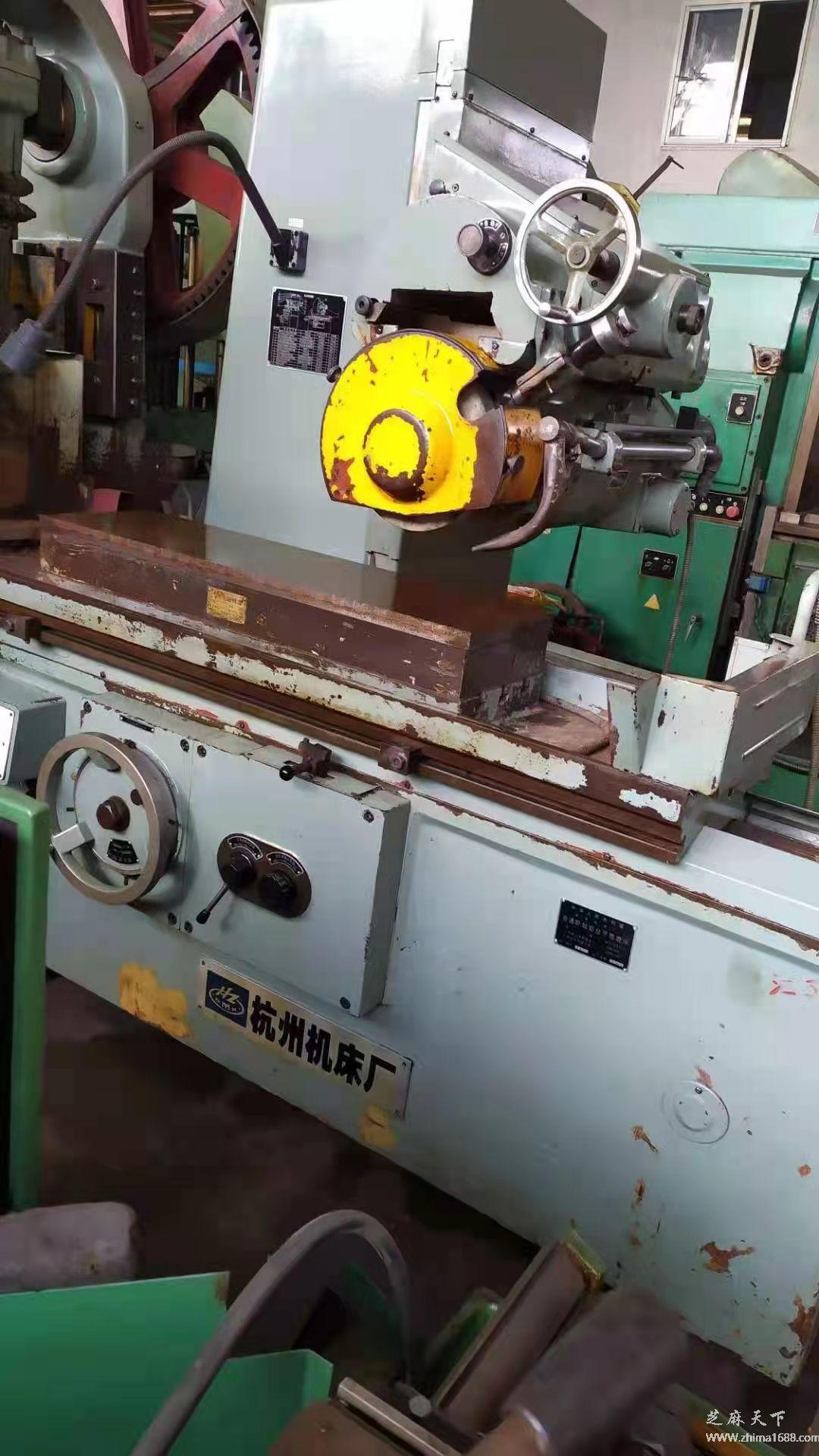 二手杭州M7130H普通卧轴矩台平面磨床(1米)